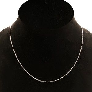 Jewelry - 14K White Gold Chain Necklace